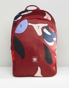 Adidas   adidas Originals X Rita Ora Paint Print Backpack