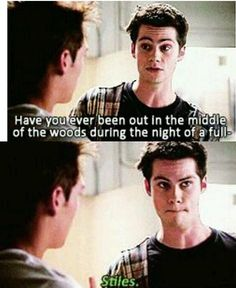 Teen wolf... no but he will be now