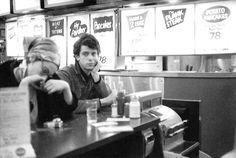 The Velvet Underground: Lou Reed with filmmaker Barbara Rubin photo by Stephen Shore, ca 1964