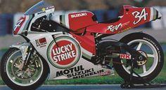 Enlace permanente de imagen incrustada 500cc Motorcycles, Street Motorcycles, Gp Moto, Moto Bike, Suzuki Bikes, Suzuki Gsx, Grand Prix, Course Moto, Gsxr 1100