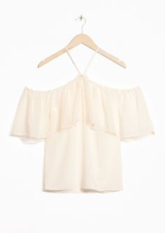& Other Stories | Off-Shoulder Ruffled Blouse