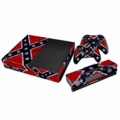 *NEW* Xbox One Skin Rebel Flag Features : - (2) Controller Skins - (1) Console Skin - (1) Kinect Skin