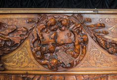 A True Masterpiece: The Antique Blasius & Sons Custom Carved Grand Piano | The Antique Piano Shop