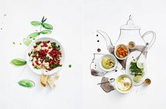 food and illustration