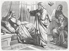 Image result for Isaiah visits Hezekiah