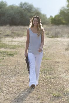 White Linen Pant - Gunny Sack and Co.