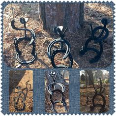 Horseshoe Cowboys by UglyDucklingStudios on Etsy