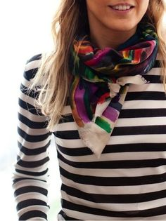 Do you wear scarves? Click here for 21 ideas on how to style them!