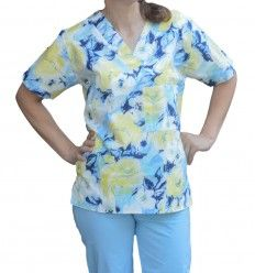Costum Medical Imprimat Nora Medical, Button Down Shirt, Men Casual, Costumes, Floral, Mens Tops, Shirts, Women, Fashion
