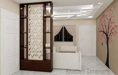 Glass Partition Designs, Living Room Partition Design, Pooja Room Door Design, Living Room Divider, Living Room Ideas Studio, Living Room Tv Unit Designs, Modern Tv Wall Units, Kitchen Cupboard Designs, Home Interior Design