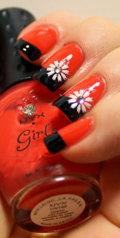 Goodly Nails: Punertavaa oranssia
