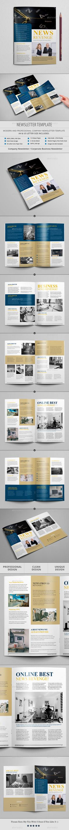 Modern Newsletter Print templates, Newsletter templates and - sample business newsletter