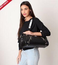 Bolso de piel Marsan Loudes negro al mejor precio. Descuento del 59%  #bolsos #bolsosdecuero #bolsos