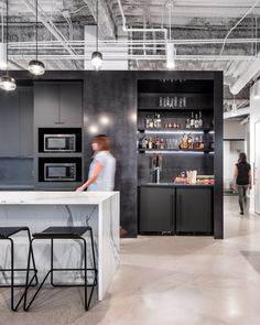 20 Office Coffee Points Kitchens And Cafeterias Images Office Design Office Interiors Break Room