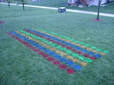 Your next backyard barbeque needs a giant outdoor Twister game, right? Of course it does! Check out this giant yard Twister tutorial from stevemoseley on