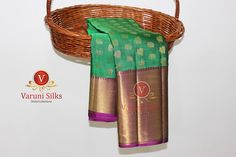 KANCHIPURAM SILK SAREES FROM VARUNI SILKS