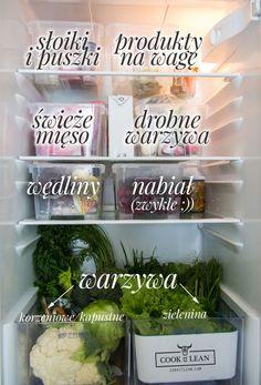 mój system przechowywania w lodówce