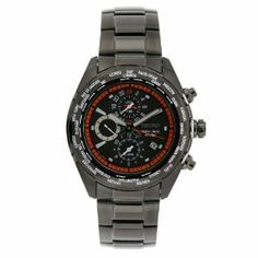 Seiko Men's SPL037 World Timer Stainless Steel Chronograph Black Dial Watch Seiko. $199.95. Water-resistant to 330 feet (100 M). Black dial. Scratch resistant hardlex. Stainless steel bracelet. Stainless steel case. Save 65%!