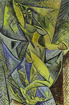 Picasso, Pablo (1881-1973) - 1907 The Dance of the Veils (Hermitage, St. Petersburg)