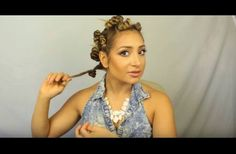 She Twists Her Hair Into 12 Tiny Buns. When She Pulls Them Loose The Next Day? This Is Stunning