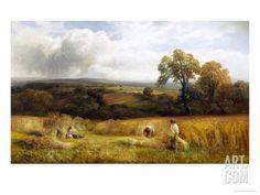 Golden Harvest Giclee Print by George Turner at Art.com