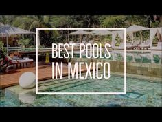 Sometimes there's nothing better than chilling poolside. We've rounded up some of the best pools in Mexico you have to check out on your next vacay. Mexico Resorts, Cool Pools, Chilling, Where To Go, Check