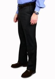 Wool Waistband Trousers