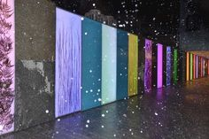 Screening: light panels in various colours
