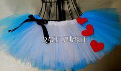 Alice in Wonderland Running Tutu  9 inch tutu by RaceJunkie, $34.95