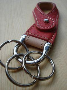 手作市場 | BASIS Leather Works | Hooks Key Chain | 「つくる、みつかる、つながる」京都発ハンドメイド・手作り品サイト