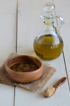 homemade face care and hair care products
