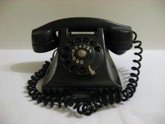 Telefone Ericsson Baquelite Modelo Dbh 15x41 - Anos 50/60