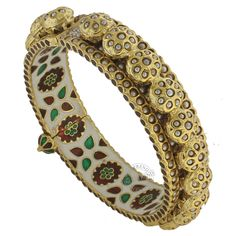 The MISHA BANGLE  by Indiatrend. Shop Now at WWW.INDIATRENDSHOP.COM