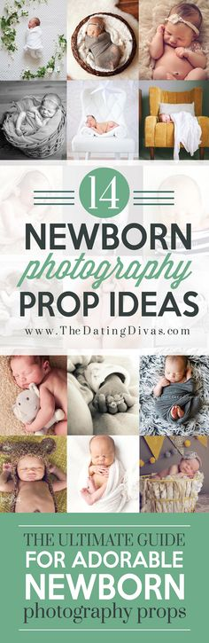 14 Adorable Newborn Photography Prop Ideas