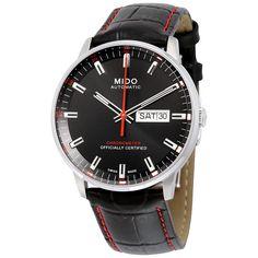 Mido Commander II Automatic Black Dial Men's Watch M0214311605100 - Commander - Mido - Watches - Jomashop