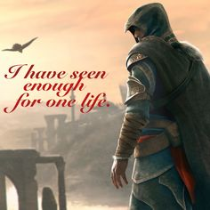 Assassin's Creed quote wallpaper, Assassin's Creed: Revelations, Ezio Auditore da Firenze Assassins Creed Quotes, Assassins Creed Odyssey, Assassin's Creed Wallpaper, Wallpaper Quotes, Gamer Quotes, Wise Quotes, Life Lessons, Firenze, Sayings