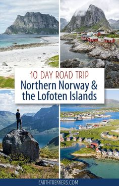 10 day northern Norway itinerary with Lofoten. On this road trip, travel from Tromso to Senja and the Vesteralen Islands, ending in the Lofoten Islands. Norway Roadtrip, Hiking Norway, Norway Travel, Lofoten, Tromso, Travel Images, Travel Photos, Travel Tips, Travel Ideas