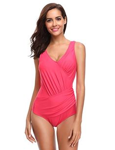 07eeda492126d Perfect Tummy Control Swimsuits for Summer   Printed Tummy Control One  Piece Swimsuit With Regard To Perfect Tumm…