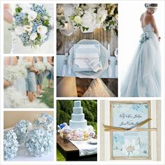 Pantone Spring 2014 Colors: Placid Blue Wedding   Wedding Blog   Cherryblossoms and Faeriewings
