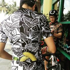 """""""Our jerseys are perfect for fuel on the go, too #cyclingkit #august14…"""