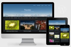 Traveler - Visual WordPress Theme by Pro Theme Design on @creativework247