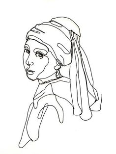 Line Art Girl with a pearl earring Wire wall sculpture Girl portrait Art enthusiast Art lover Icon Wall decor Art Sketches Art art sketches Decor earring enthusiast girl icon LINE Lover pearl Portrait Sculpture Wall WiRE Portrait Sculpture, L'art Du Portrait, Woman Portrait, Sculptures Sur Fil, Wall Sculptures, Pottery Sculpture, Wire Art Sculpture, Art Sketches, Art Drawings