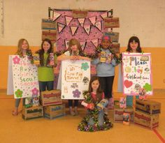 girl scouts cookie booth, girl scout cookies, gs cooki, cooki booth