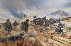 Boer commandos turning the British guns, Boer War Military Art, Military History, South Afrika, Colonial, Early Modern Period, Armed Conflict, Cartoon Photo, War Film, African History