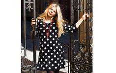 Spot on! Spot is a reversible dress in 100% wool.