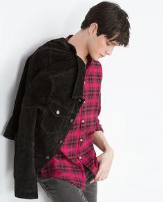 Luke Powell | Zara Flannel Shirt 6608403
