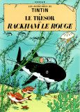 *TINTIN by Herge (Georges Remi) poster - 'Le Tresor De Rackham Rouge'. Would love to frame this, as well as 'On A Marche Sur La Lune' and 'L'Ile Noire' for a nice little triptych.  $36.99
