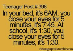 Teenager Post # 398 RELATIVITY