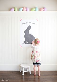 A collection of the web's best Easter Games for Kids including Pin the Tail on the Bunny, DIY Egg Popper Tree, Easter Egg Matching, and Don't Eat the Peep. Easter Games For Kids, Easter Activities, Crafts For Kids, Easter Ideas, Holiday Games, Holiday Ideas, Holiday Decor, Bunny Birthday, 5th Birthday
