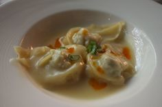 Shanghai pot stickers elevated with a sweet and spicy sauce at Tao Chinese Cuisine in The Intermark Hotel, KL.